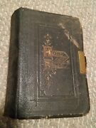 044 Old Antique Bible Old And New Testament Eyre And Spottiswoode Brass Clasp