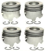 2001-2005 6.6l Lb7 Lly Duramax Right Side Pistons And Rings .040 Oversize 2370