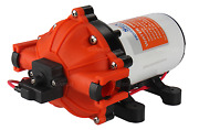 New Seaflo 12v Dc 5.0 Gpm 60 Psi Water Pressure Pump W/ Quick-connect Fittings