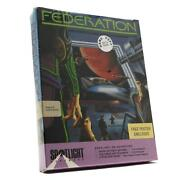 Demo Copy Amiga 512k Computer Game Federation New/sealed Free Poster Inside