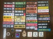 Eddie Would Go Sticker Collection - Very Rare - Quiksilver - Lot Of 49 - Surfing