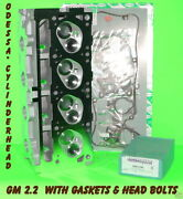 New Gm Chevy Pontiac S10 2.2 Ohv 507 Cylinder Head Gasket And Bolts