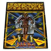 Brand New Amiga Hyperforce Factory Sealed Computer Game Addictive Games, 1989