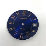 Audemars Piguet Blue Dial With Applied Rose Gold Roman Numerals With Date Window