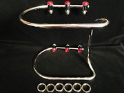 Harley Bumper Mounting Stanchions Stand-offs Fl Knucklehead Panhead Wl Flathead