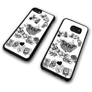 Harry Styles Tattoos Butterfly Silver Spoon Rose Yacht Phone Case Cover