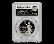 2019-w 100 Platinum Statue Of Liberty Pcgs Pr70dcam First Day Of Issue - Read