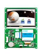 4.3 Inch Hmi Tft Lcd Touch Control Screen Display 16 Bit Colour