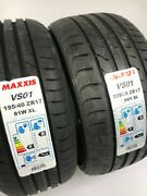 Summer Tyre Tire Set Smart Fortwo 451 195 40 +225 35 R17 Maxxis