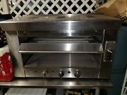 Heavy Duty Infrared 36 Gas Salamander/broiler Or Cheese Melter