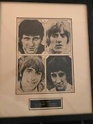 The Who Vintage Autographed Photo