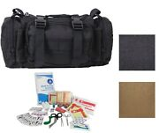 Fast Access Tactical Trauma Kit Emergency Gear Molle First Aid Case Pouch