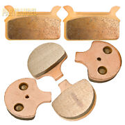 F+r Sintered Brake Pads For 1994-1999 1998 Harley Flhr Flhrci Road King Classic