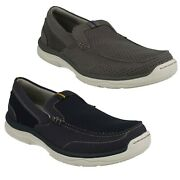 Hommes Clarks Marus Step Cloudsteppers Andagrave Enfiler Marche Sports Chaussures Taille