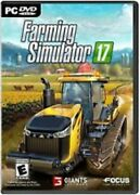 Farming Simulator 17 Pc Game Brand New Factory Sealed