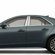 Chrome Pillar Post Covers For 2008-2013 Cadillac Cts 4 Pieces