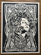 Shepard Fairey Obey And Jermemy Fish Prints Lot 3 Prints Instant Art Collection