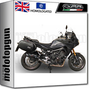 Gpr High Full System Exhaust Cat Furore Black Yamaha Mt09 Mt-09 Tracer 2017 17