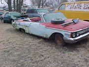 1962 Mercury Convertible Parts Car 60 61 62 Ford Power Windows And Seat Parting