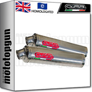 Gpr 2 Mid Full Exhaust System Hom Round Carbon Ducati Monster S4r 2006 06
