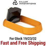 Killer Innovations Velocity Enlarged Flared Magwell For Glock 19/23/32 - Gold