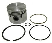 New Set Of 4 Pistons W Rings + Clips Triumph Spitfire 1500 9-1 Ratio Standard