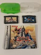 Game Boy Advance Yu-gi-oh World Wide 1996 And The Sacred Cards 2003 W/manual