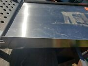 Stainless Steel Ramp For Scale Wheel Chair Loading Ent. Heavy Duty Never Used.
