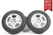 00-06 Bmw E53 X5 Rear Right And Left 5-spoke Wheel Tire Rim 7.5jx17 Seh2 Is 40 Oem