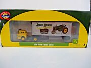 Ho Athearn John Deere Tractor Classic Ford C And 28and039 Wedge Trailer Truck 8111 New