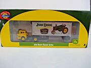 Ho Athearn John Deere Tractor Classic Ford C And 28' Wedge Trailer Truck 8111 New