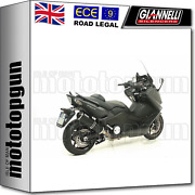 Giannelli Full System Exhaust Cat Ipersport Black Yamaha T-max Tmax 530 2014 14