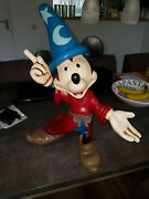Extremely Rare Walt Disney Mickey Mouse Fantasia Big Old Figurine Statue