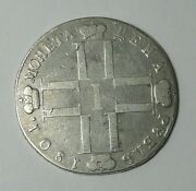 Rouble Ruble Paul I Pavla 1 Coin Silver Imperial Russian 1801