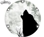 2004-2021 Harley Davidson Sportster 883 1200 Derby Clutch Cover Howl Wolf Moon
