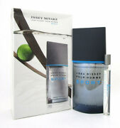 Issey Miyake Land039eau Dand039issey Pour Homme Sport Men 2pcs Set Edt 3.3 Oz And 0.33 Oz