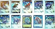 Dinosaur King Series 1 Cg Trading Cards Very Rare Foils And Ultra Rare Colossals
