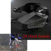 Easy To Install Rainproof Motorcycle Hand Guards Made Of Plastic Aluminum Alloy