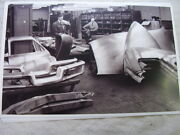 1948 Tucker Assembly Line Parts Storage Area 11 X 17 Photo Picture