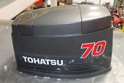 New Genuine Oem Tohatsu 70 Hp Upper Motor Cover Assand039y 3f3s675100 70b Nissan