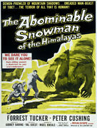 7516.decoration Poster.home Room Interior Design.abominable Snowman.yeti Movie