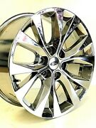 20 Fits Ford F150 Chrome Wheels Rims Ranch Truck Pvd Factory Oem Set 4 10003