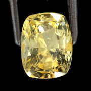 2.67 Ctw Unheated Gem Best In Market Collection Natural Yellow Sapphire