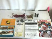 Asst. Lot Electric Train Manuals Parts Wire Lionel Joiner Catalog Walthers