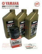 Yamaha Oem F30-70 Outboard Full Synthetic Oil Change Kit 3 Qt 05w30 4m Filter