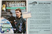 1993-94 Milwaukee Wave Yearbook Ticket Roster Npsl National Pro Soccer League