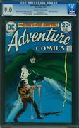 Adventure Comics 431 Cgc 9.0 Oww Pages 1st Spectre Jim Aparo Art L2
