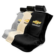 Seat Armour Terry Cloth Seat Cover Towel Fit For Chevy - Chevy Logo