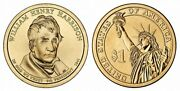 2009 D William Henry Harrison Presidential Dollar Satin Finish Very Low Mintage