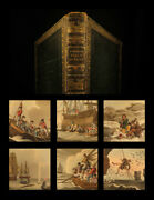 1841 1ed Foreign Field Sports Color Illustrated Hunting Fishing Whaling Howitt